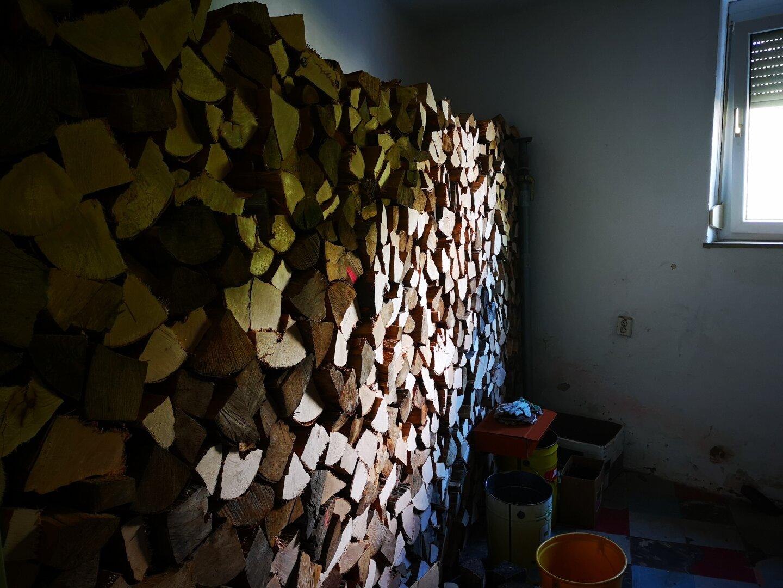 Holzlager Erdgeschoss