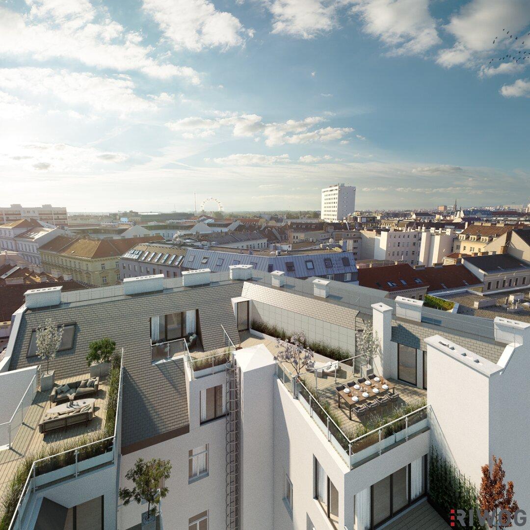 *LEOPOLD living*  EXKLUSIVE Dachgeschoss-Wohnungen mit großzügigen Außenflächen (Projektansicht)