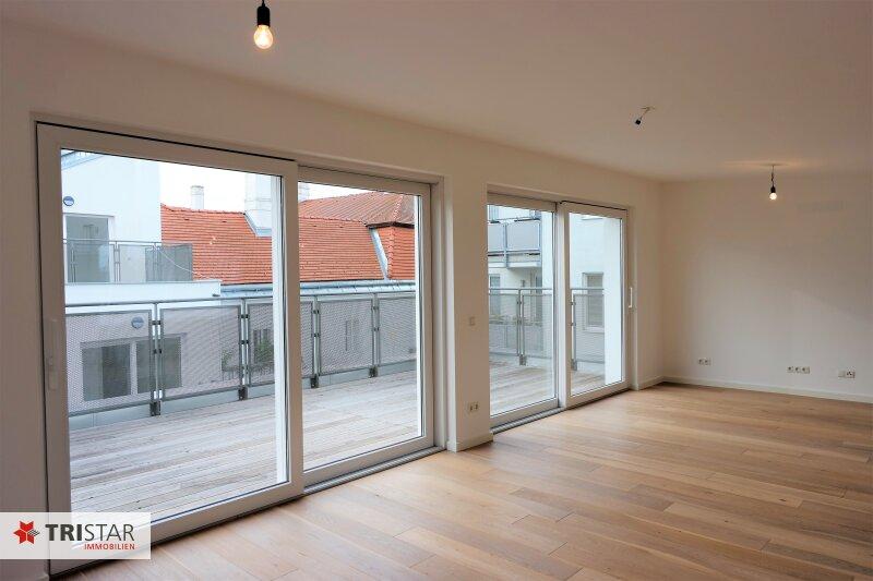 :::Erstklassige Neubaumaisonettewohnung im Baurecht mit 2 Terrassen in absoluter Grünruhelage::: /  / 3400Klosterneuburg / Bild 2