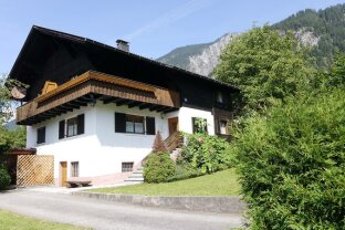 St. Anton im Montafon: Gemütliches Haus mit großem Naturgarten (1211m²)