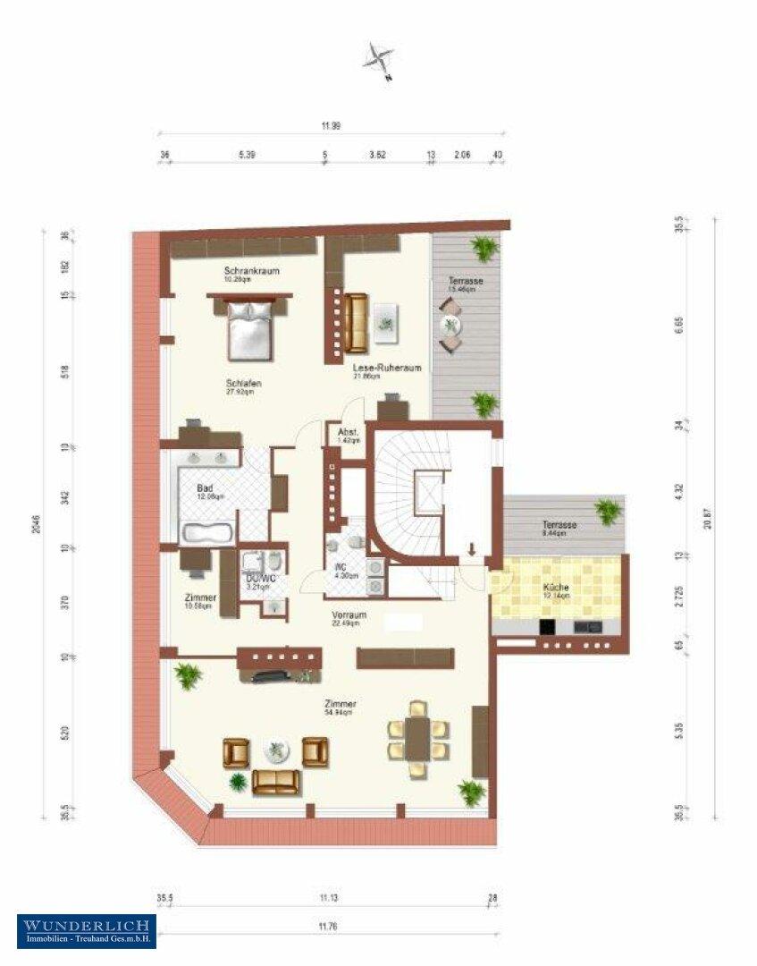 Plan Eingangsebene