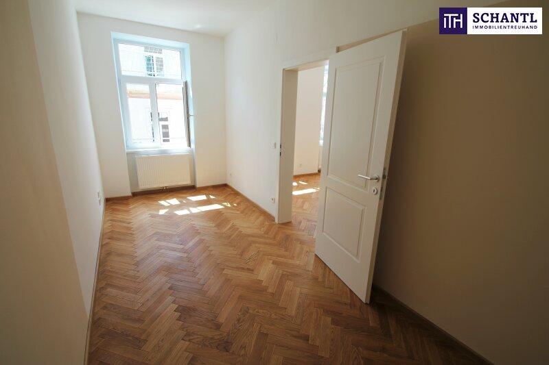 Perfekte 2-Zimmer Wohnung mit Loggia! Großer grüner Innenhof + Rundum saniertes Haus + Perfekte Infrastruktur! /  / 1150Wien / Bild 7