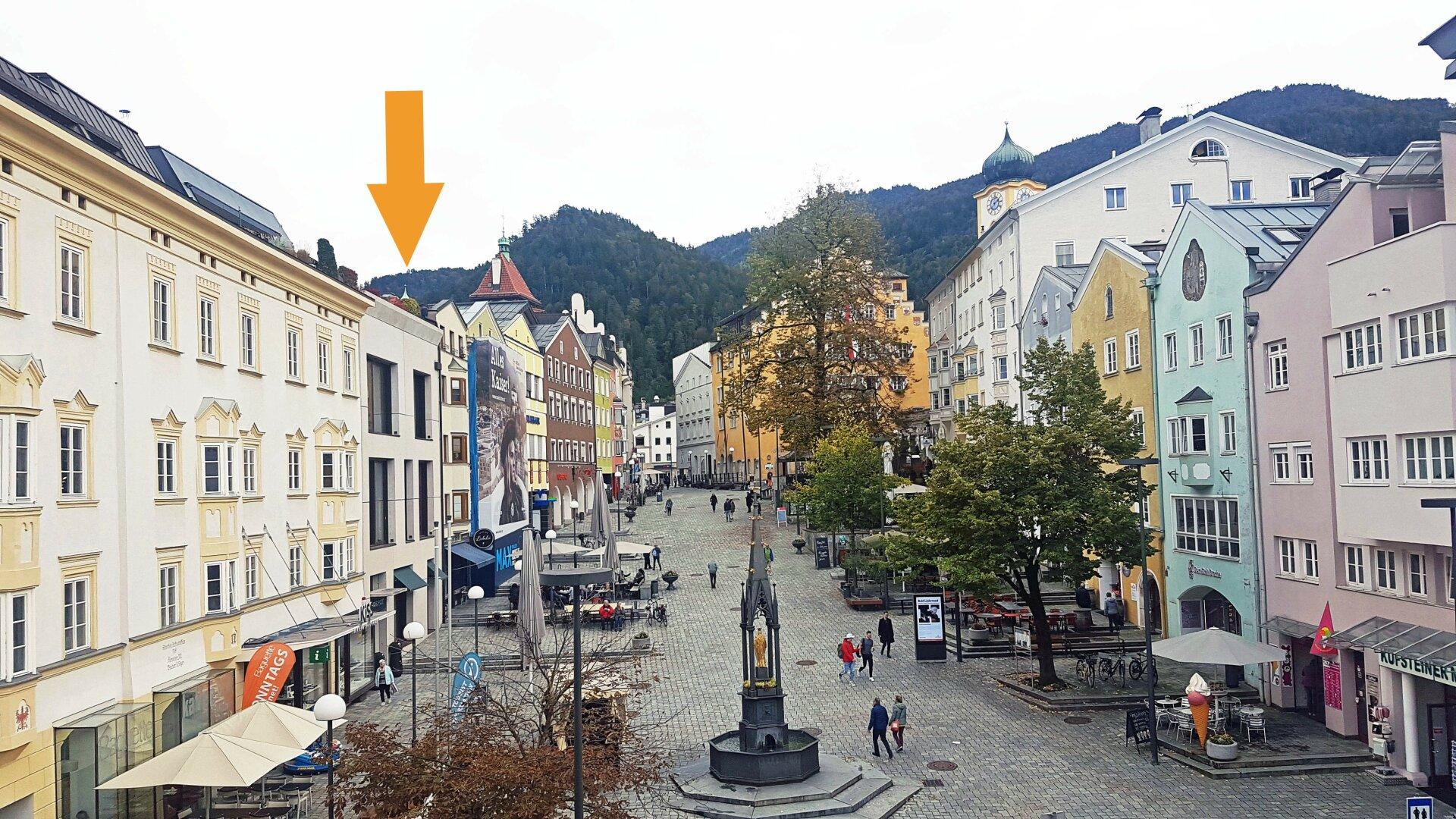 Hausansicht, exklusive Stadtwohnung Kufstein