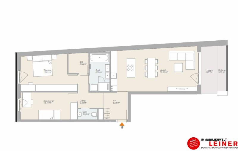 Wohnen am Kaisergarten- Hier wird Ihr Wohntraum Wirklichkeit Objekt_11262 Bild_638