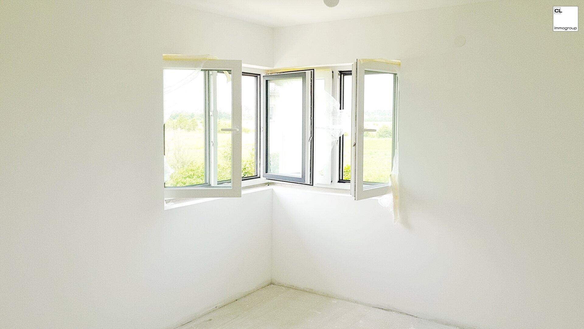 Eckfenster Innenansicht