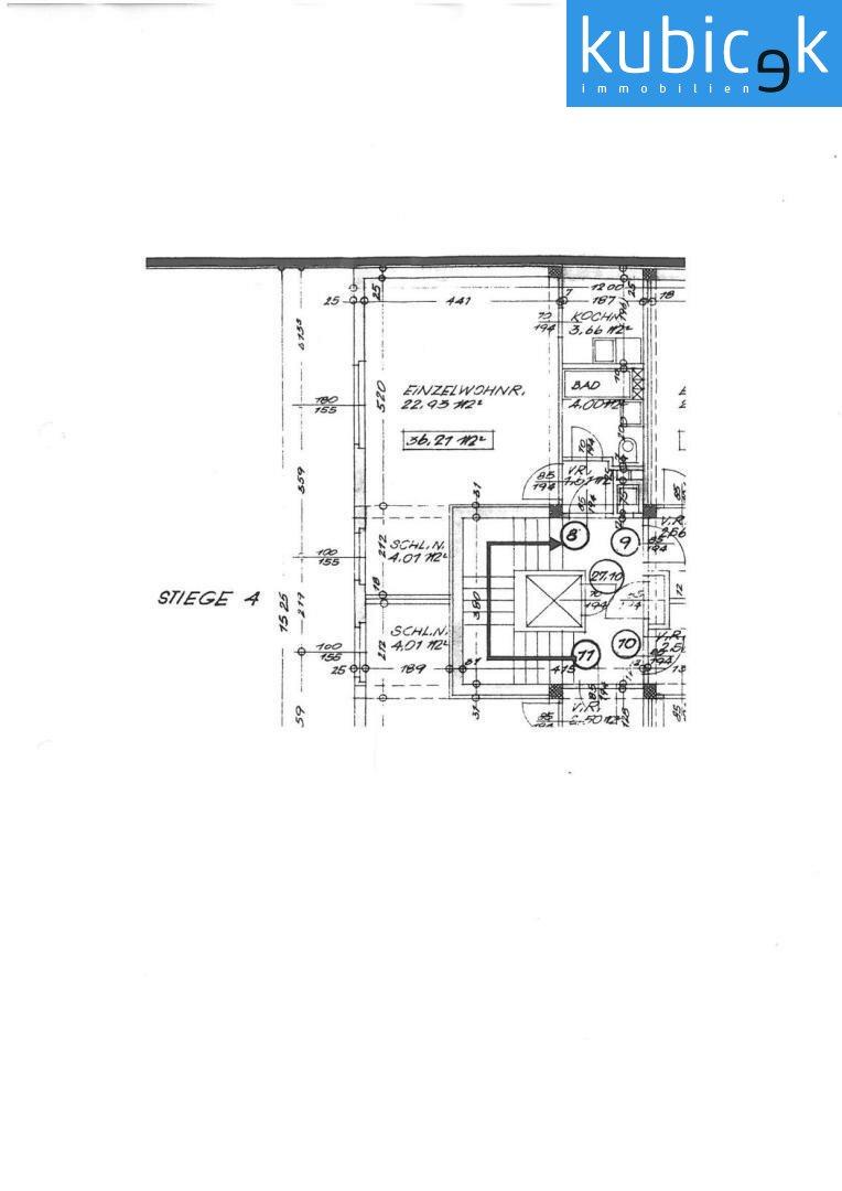 Original-Wohnungsplan