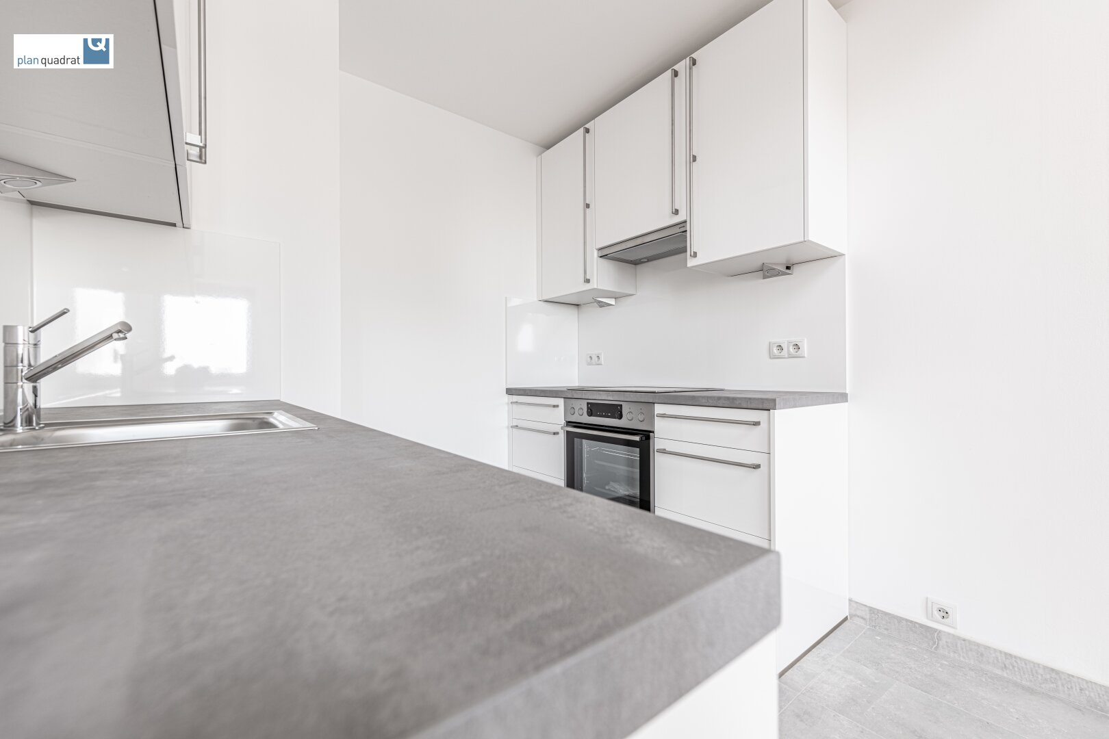 Küche (ca. 5,20 m²) mit neuer Einbauküche