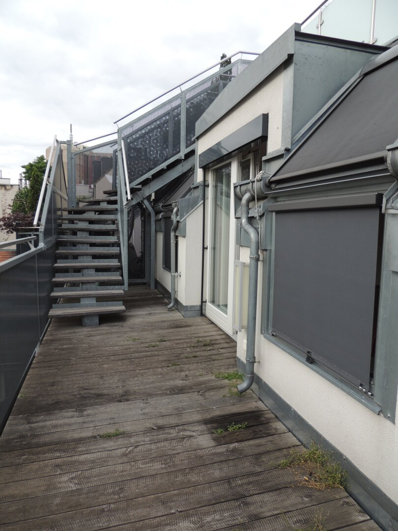 10m² Terrasse auf Wohnebene