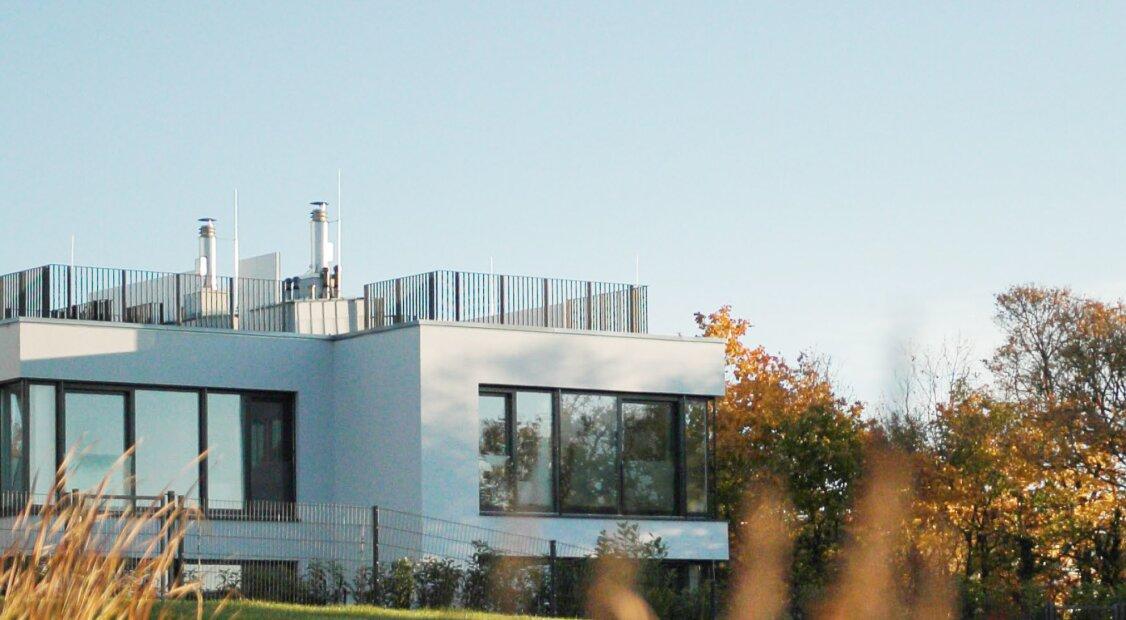 6 LUXUS-VILLEN (4-6 Zimmer) IN GIESSHÜBL MIT EINZIGARTIGEM FERNBLICK von 170-255 m² WNF ZU MIETEN!