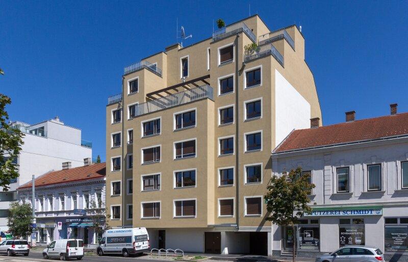 Quality Living in der trendigen Donaustadt.