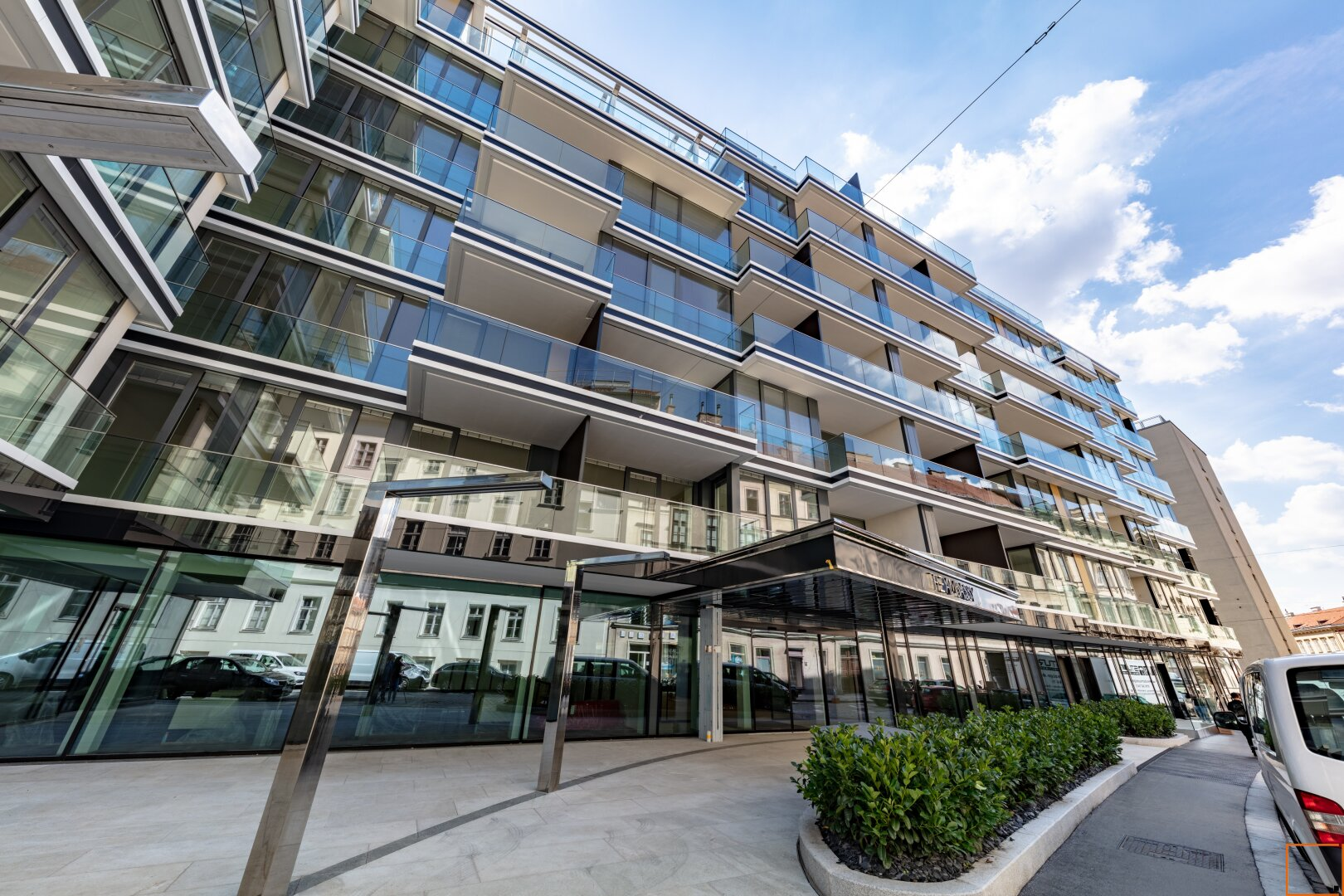 Preisgekrönte Architektur mit Glasfassade