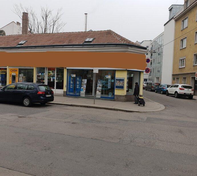 BRANCHENFREIES ECK-GESCHÄFTSLOKAl  1120 Wien Hauptstrasse