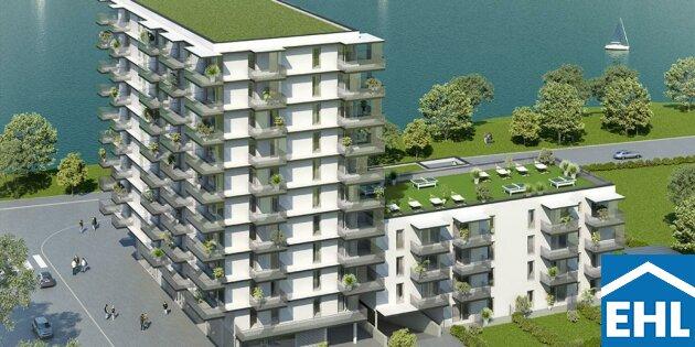 Wohnkomfort direkt am Wasser: Ihr provisionsfreies Eigentum in Wien Donaustadt