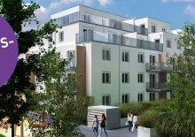 PROVISIONSFREI MIETEN - Erstbezug 2-Zimmer-Neubauwohnung inkl Markenküche, Terrasse Außenfläche und Kellerabteil/ALF46-58 2. DG, 46-58