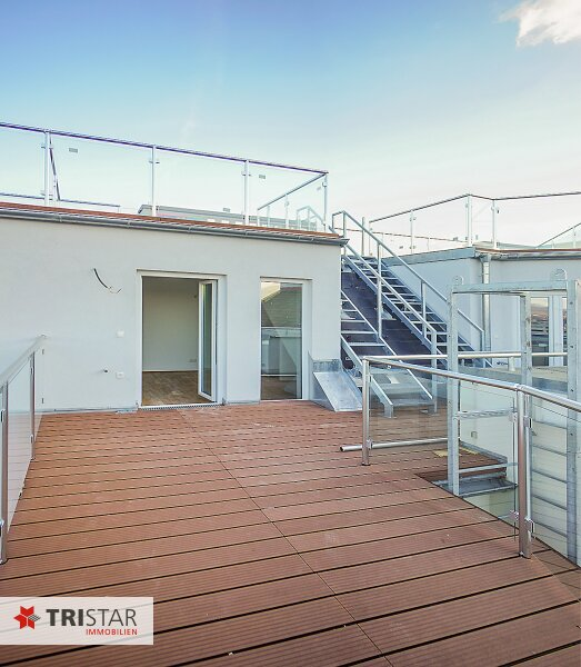 NEU! ++ ERSTBEZUG !!! Dachterrassenwohnung mit 360 Grad Wienblick !!! Terrasse + Dachterrasse !!! 4 Auto Stellplätze (Top 60) ++ /  / 1100Wien / Bild 2