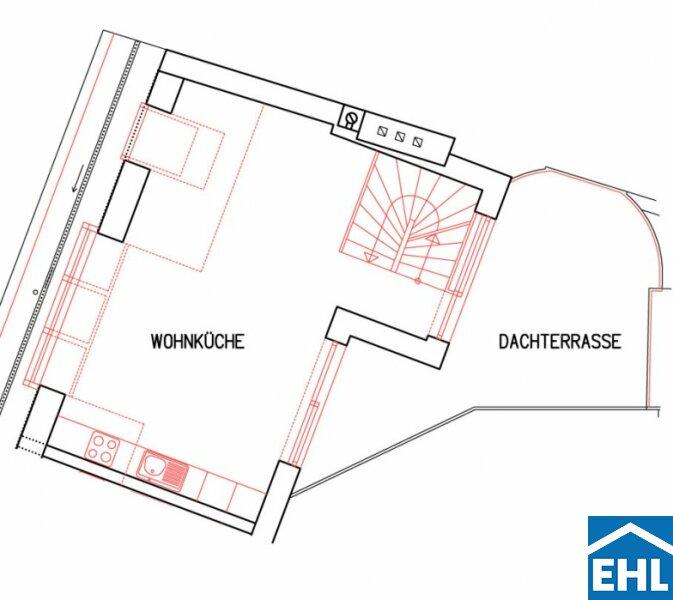 Klimatisierte, sanierte Dachgeschosswohnungen in wunderschönem Gründerzeithaus /  / 1090Wien / Bild 3