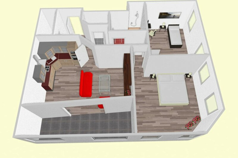 ...TOP Erstbezug 3-Zimmerwohnung mit Loggia in 17.Bez.! /  / 1170Wien / Bild 1