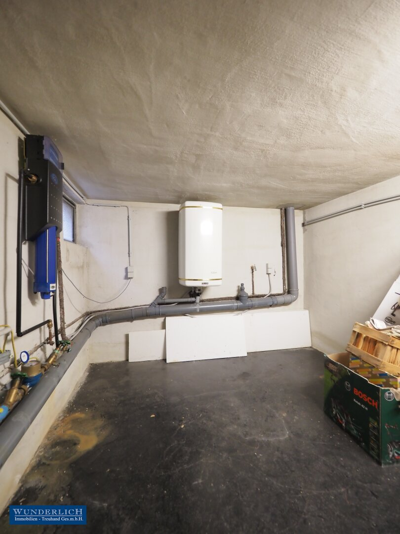 Abstellraum im Kellergeschoß