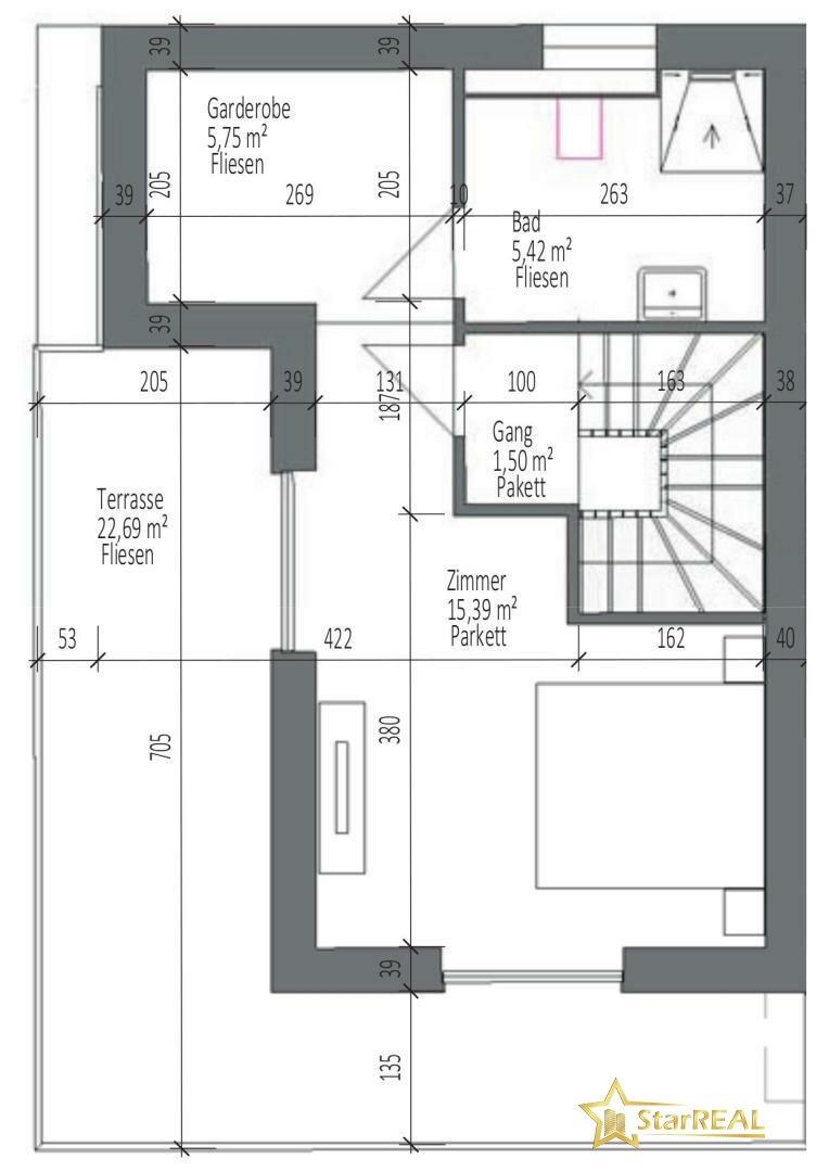 HAUS 4 Dachgeschoss