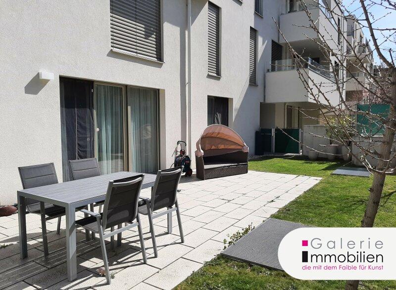 Top ausgestattete 2-Zimmer Wohnung mit Garten und großer sonniger Terrasse Objekt_34679