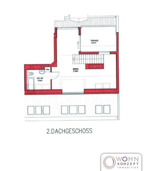 Dachwohnung ERSTBEZUG 96m² mit Terrasse in 1100 Wien /  / 1100Wien / Bild 11