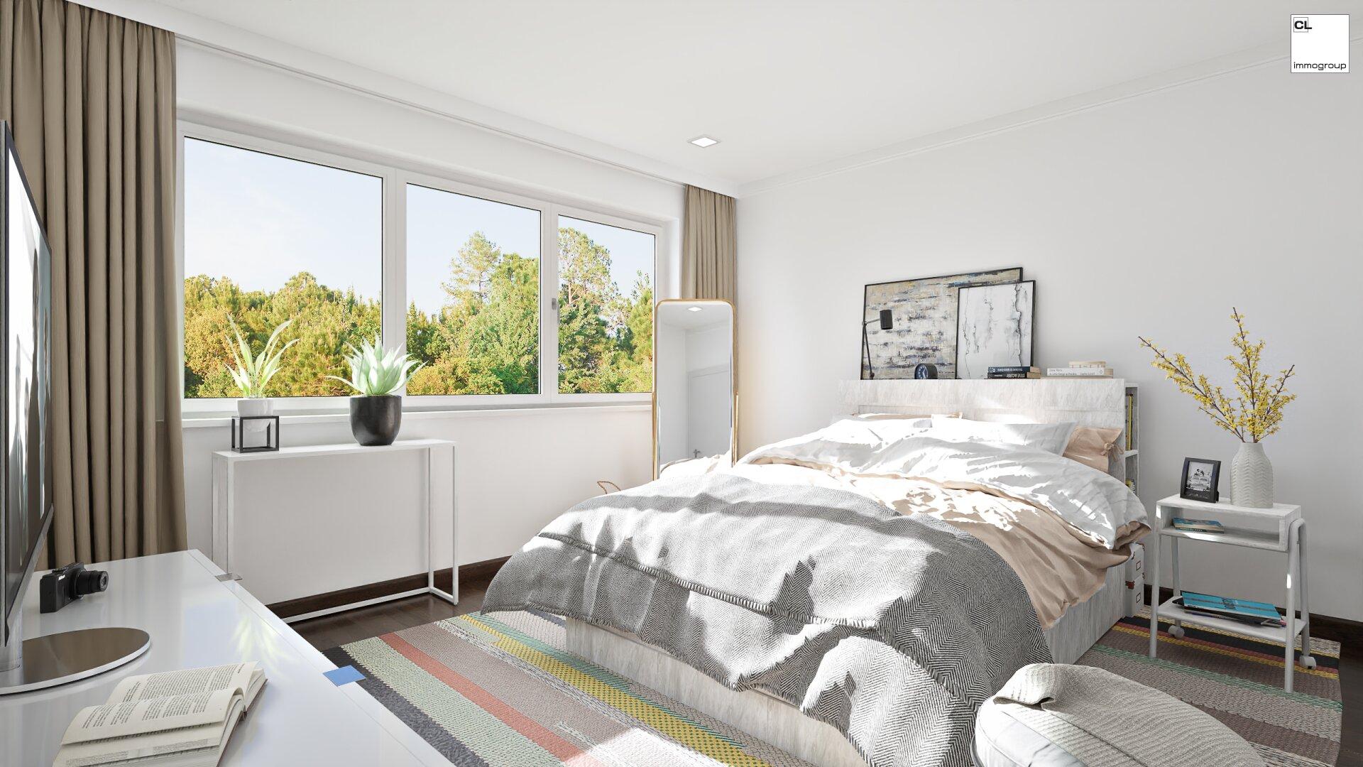 Schlafzimmer (Visualisierung)