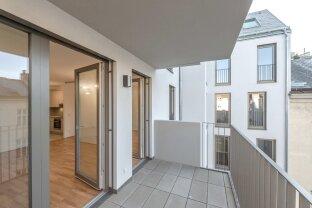 Neubauwohnung mit Klimaanlage, westseitigem Balkon, etc. in Zentrumsnähe - ab sofort!
