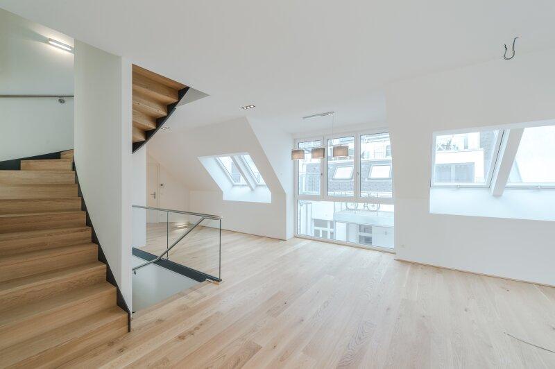 ++RARITÄT** Außergewöhnliche DG-MAISONETTE in TOP-CityLAGE! Altbaucharme + moderne Dachgeschosswohnung! Ruhelage! /  / 1020Wien / Bild 7