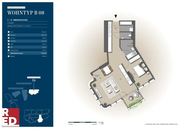 PARKAPARTMENTS AM BELVEDERE - Smart City Living (Reserviert)
