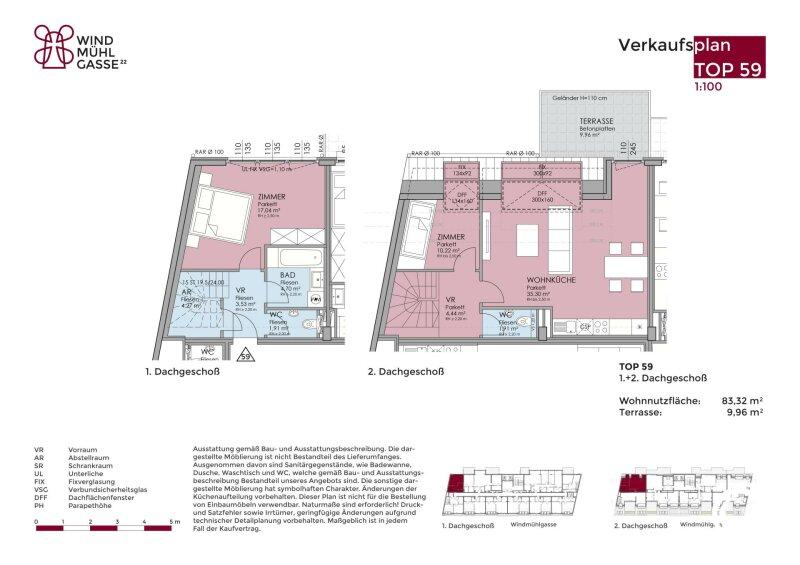 1060 // Wohnen auf 2 Ebenen mit Terrasse! /  / 1060Wien / Bild 8