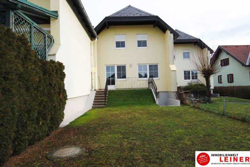 Götzendorf/Leitha - Nähe Wien: Ziegelmassives Reihenhaus -  4 Zimmer, Keller, Garage und Garten! Objekt_8873