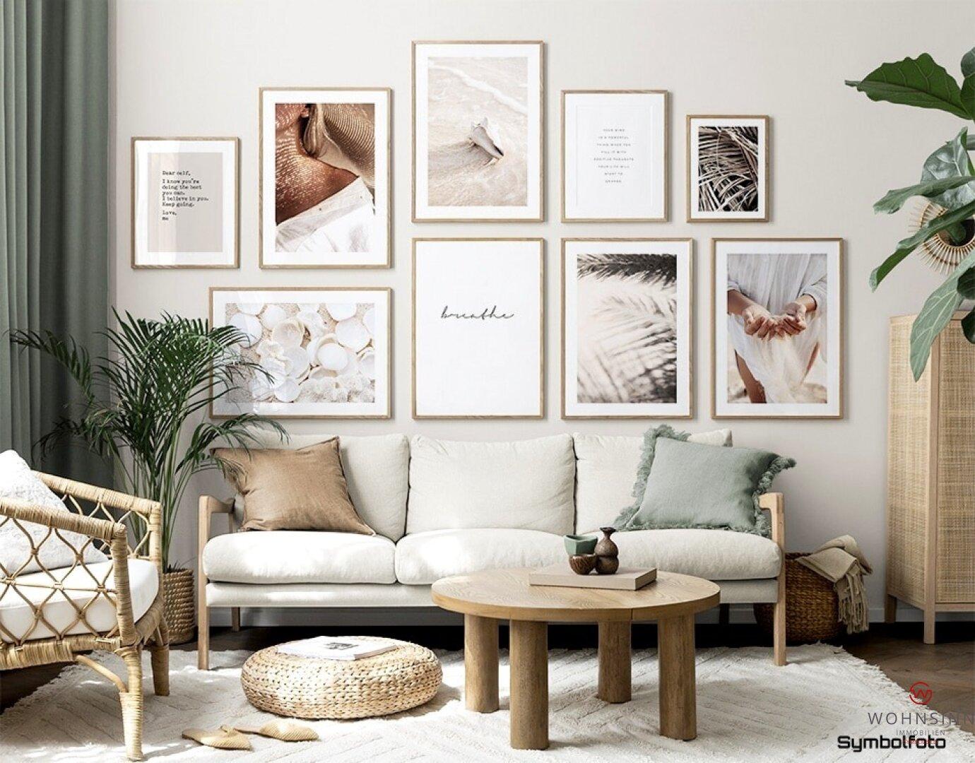 Symbolfoto Wohnzimmer