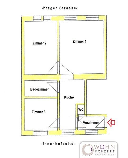 Renovierter 68m² Altbau mit Einbauküche - 1210 Wien /  / 1210Wien / Bild 10