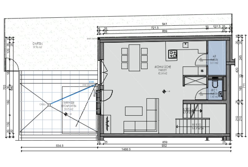 Familien-Maisonette mit Eigengarten, Terrasse, Balkon /  / 1220Wien / Bild 1