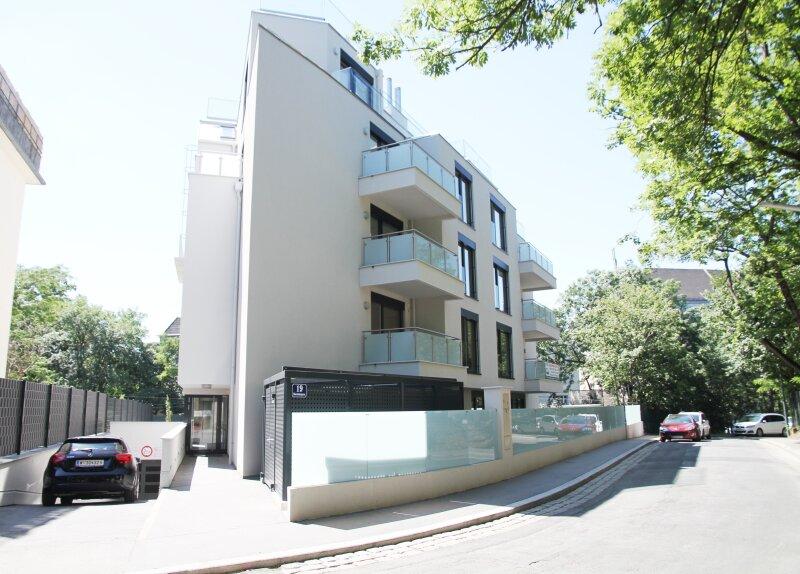 Terrasse  U N D  2 Balkone!! 30m²-Wohnküche + Schlafzimmer, 3.Stock Bj. 2017, Obersteinergasse 19 /  / 1190Wien / Bild 2
