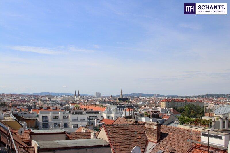 Perfekt geschnittene Dachgeschosswohnung! Drei Zimmer + Top Ausstattung + Grandioser Fernblick! /  / 1170Wien / Bild 5
