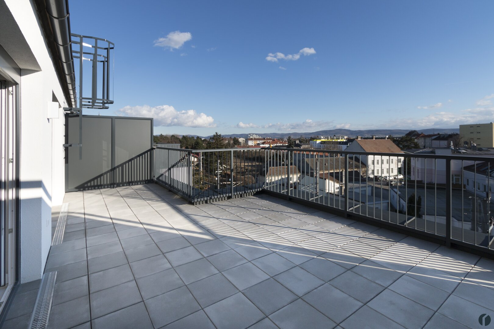Musterwohnung Terrasse