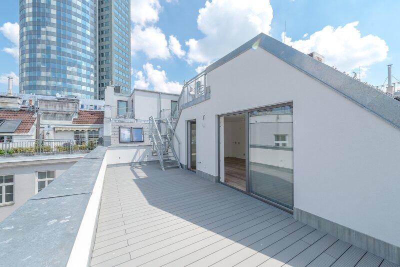 ++NEU++ Hochwertiger 3-Zimmer DG-Erstbezug, tolle Aufteilung! riesige Dachterrasse, toller Ausblick!! ***Videobesichtigung*** /  / 1200Wien / Bild 2