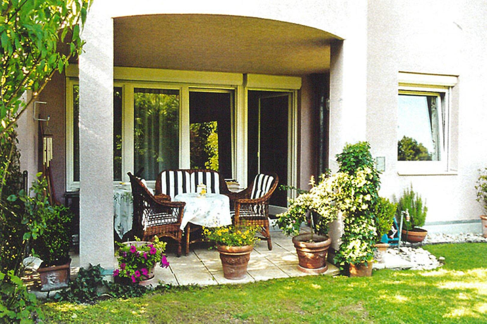 Gartenterrasse+