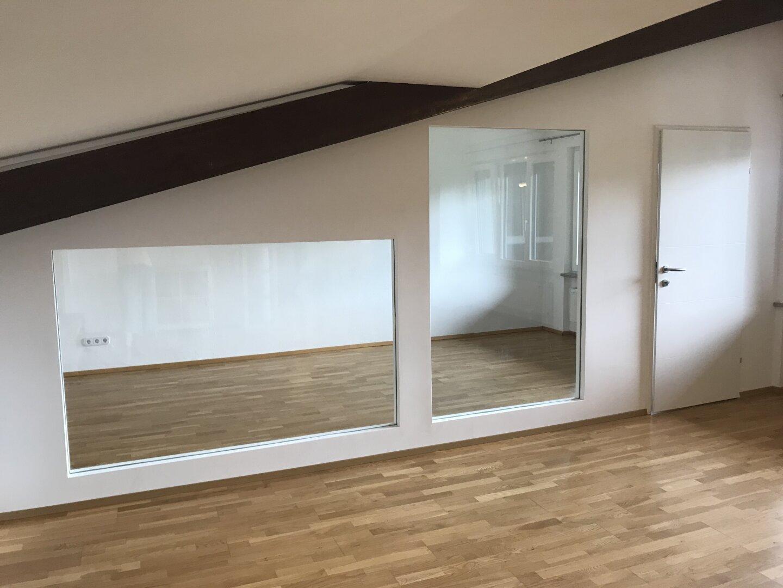 originell gelöst - Trennwand zum Schlafzimmer