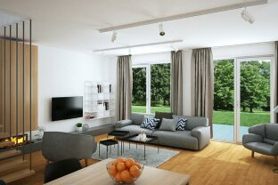 Doppelhaushälfte mit Eigengarten