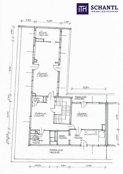 Exklusive vollmöblierte Terrassen-Wohnung im Herzen des 6. Bezirks mit riesigen Terrassen! Nicht lange zögern! /  / 1060Wien / Bild 10