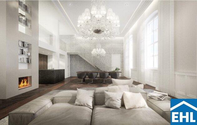 Luxuriöse Wohnungen in einzigartiger Wohngegend