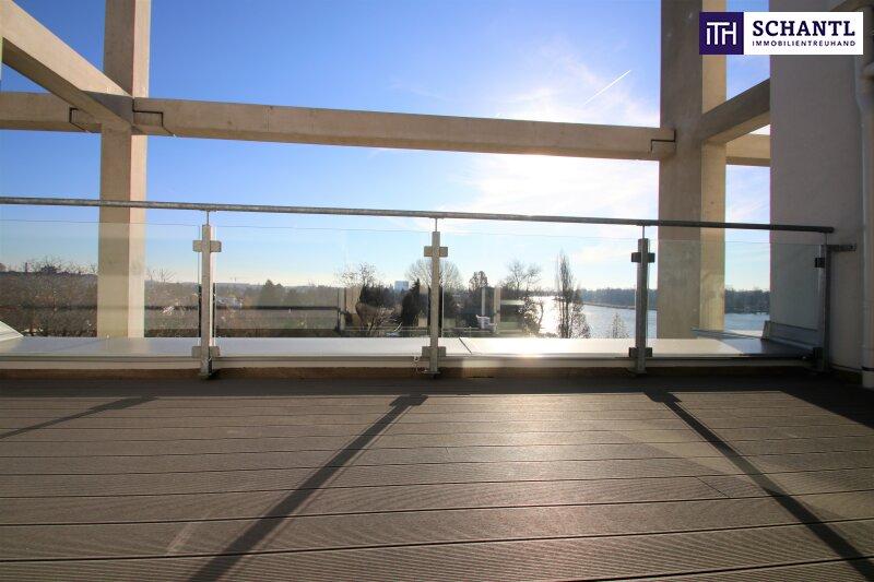 Zu Hause im Urlaub! Erstbezug im Dachgeschoss auf zwei Ebenen mit 4 Terrassen! Provisionsfrei!!! /  / 1220Wien / Bild 1