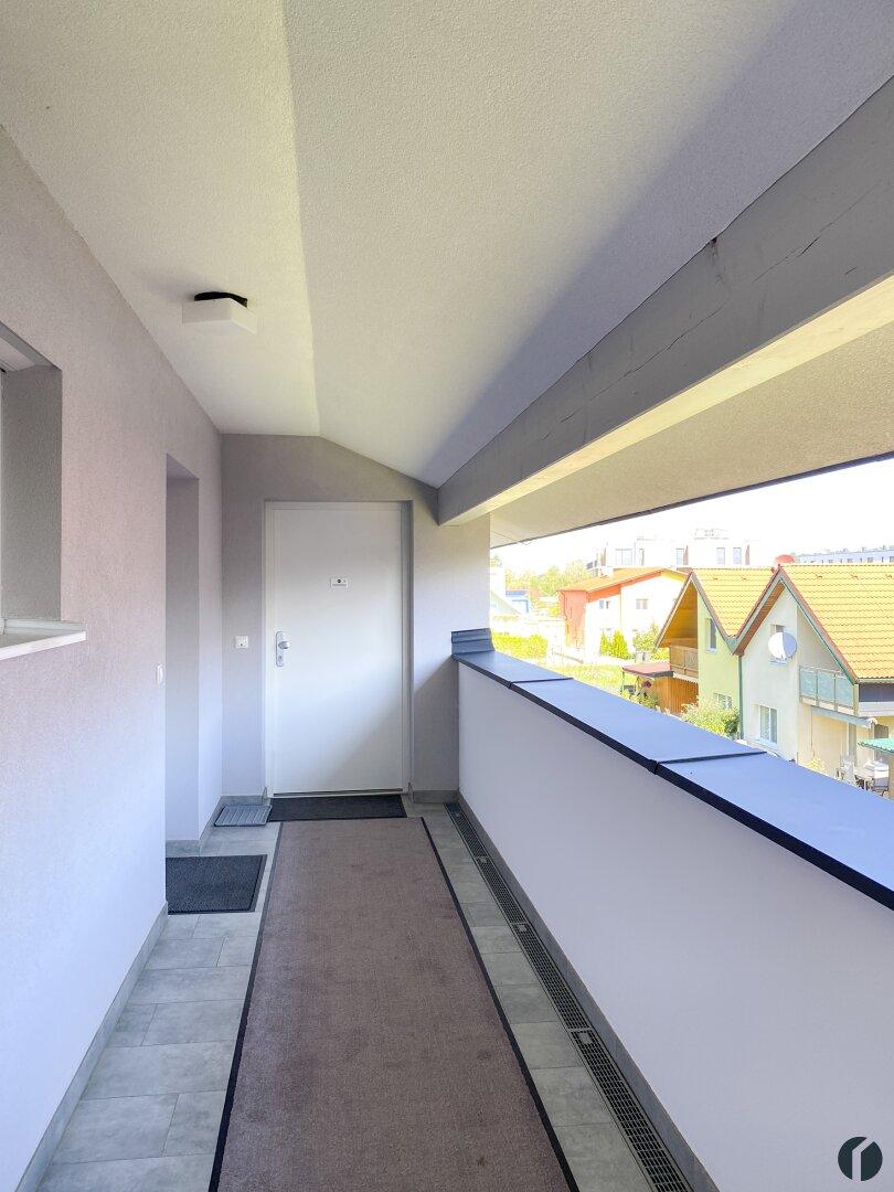 Stiegenhaus mit Aussicht