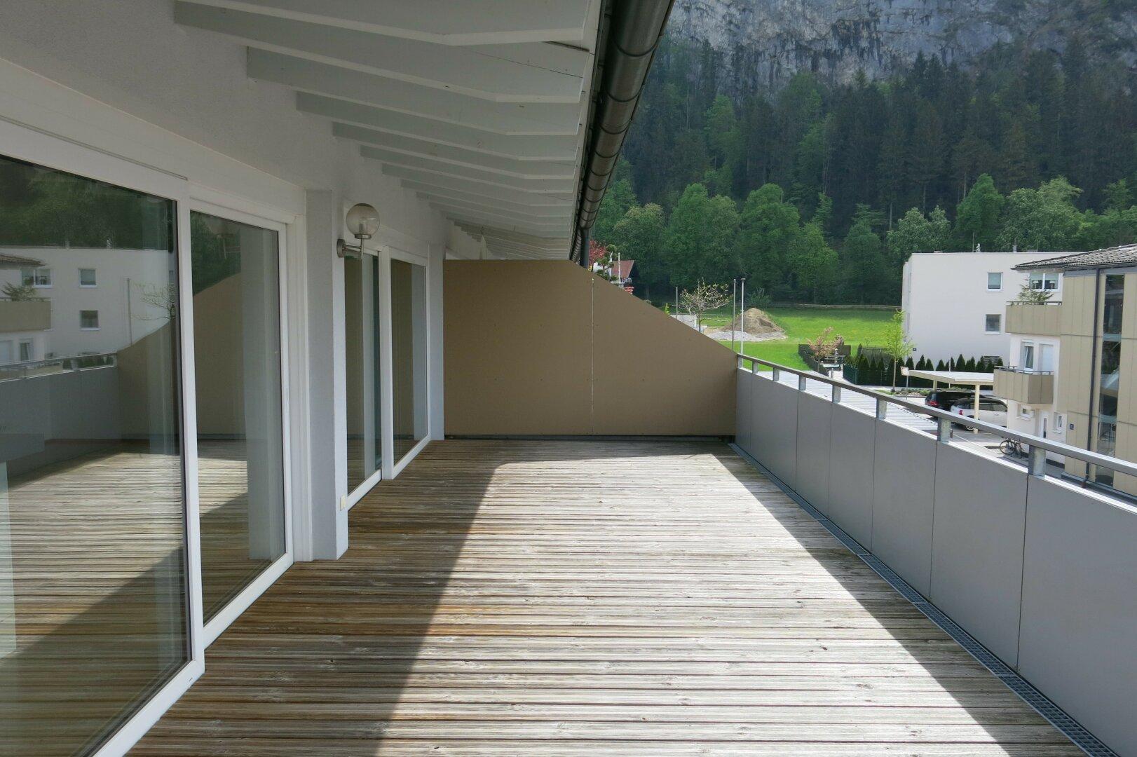 Terrasse im Süden, Penthousewohnung, Kufstein