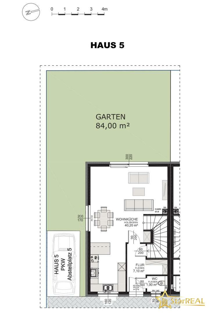 HAUS 5 Garten