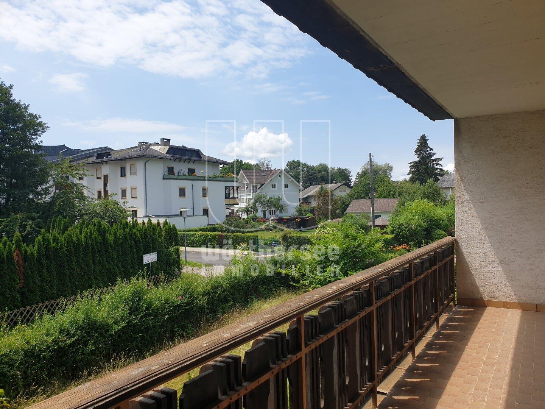 Ausblick nach Südwesten von Loggia 1. OG