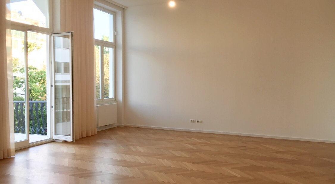 UNBEFRISTET! Top ausgestattete 4-Zimmer Wohnung mit großem Balkon 1030!