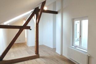 Generalsanierte 4-Zimmer Dachterrassenwohnung mit schönem Fernblick - Freihausviertel Nähe Innenstadt